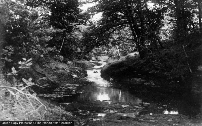 Photo of Abergorlech, The Steps 1950