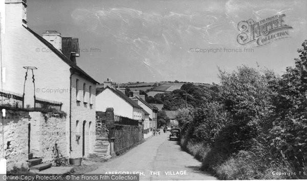 Abergorlech, The Village 1950