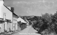 Abergorlech, The Village 1950