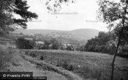 Abergorlech, Village From The East 1950