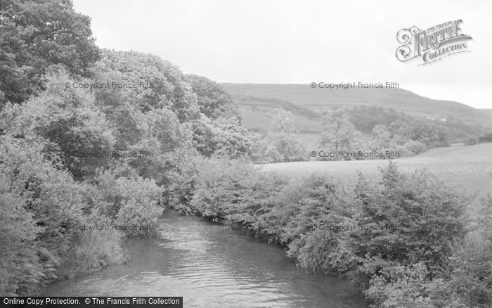 Photo of Abergwesyn, Gwesyn River c.1950