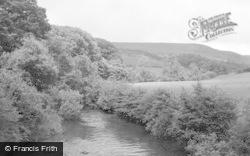 Abergwesyn, Gwesyn River c.1950