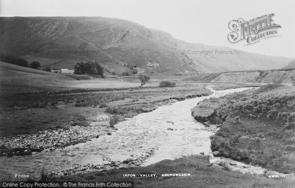 Photo of Abergwesyn, Irfon Valley c.1950