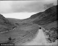 Pass, Showing Devil's Staircase In Distance c.1950, Abergwesyn