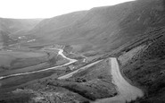 Abergwesyn, View From Hair Pin Bend, Devil's Staircase c.1950