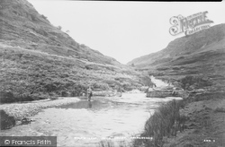 Abergwesyn, Wolf's Leap, Irfon Valley c.1950