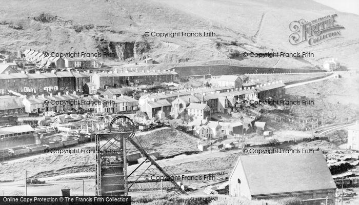 Photo of Abergwynfi, General View c.1955