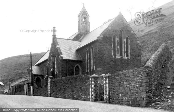 Photo of Abergwynfi, St Gabriel's Church 1938