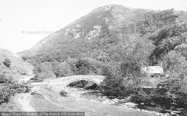 Photo of Abergwyngregyn, Aber Bridge 1896