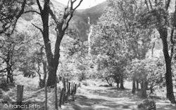Abergwyngregyn, Aber Falls c.1955