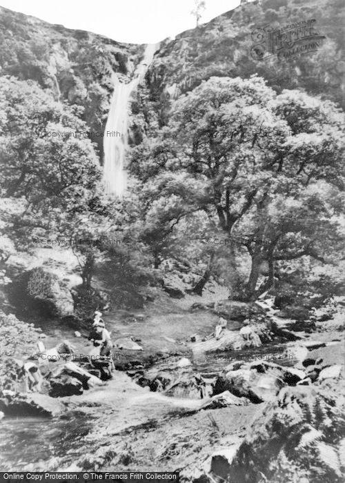 Photo of Abergwyngregyn, Aber Falls c.1955