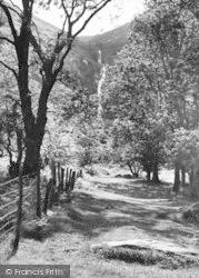 Abergwyngregyn, Aber Falls c.1960