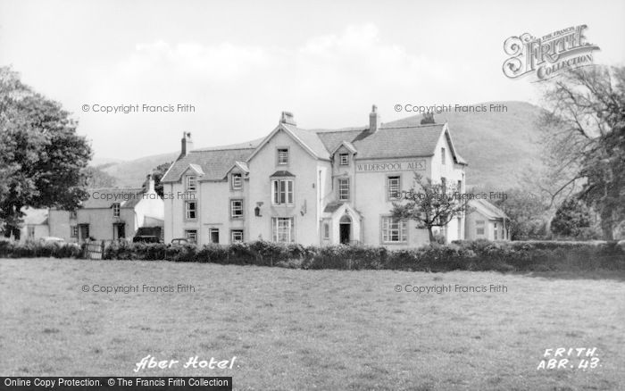 Photo of Abergwyngregyn, Aber Hotel c.1955