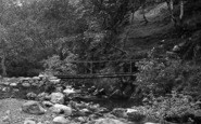 Abergwyngregyn, Aber Valley, Footbridge 1896