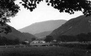 Abergwyngregyn, And The Mountains From Aber Hotel c.1950