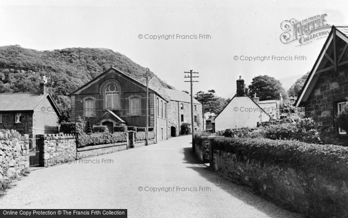 Photo of Abergwyngregyn, Chapel And Old Mill c.1955