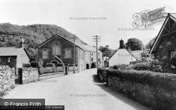Chapel And Old Mill c.1955, Abergwyngregyn
