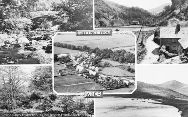 Photo of Abergwyngregyn, Composite c.1955