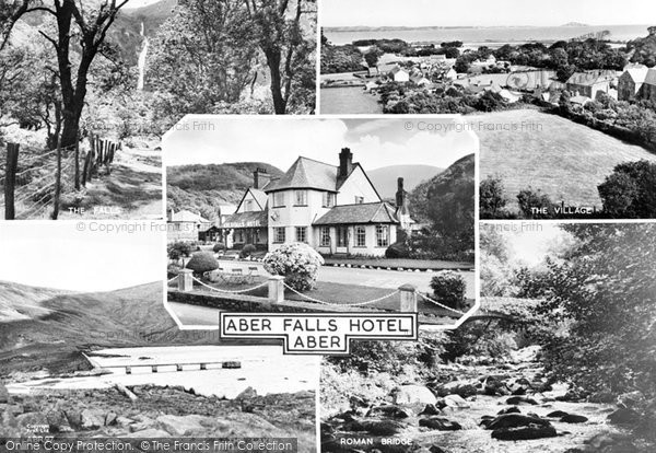 Photo of Abergwyngregyn, Composite c.1960