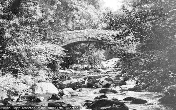Photo of Abergwyngregyn, Roman Bridge c.1955