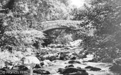 Abergwyngregyn, Roman Bridge c.1955