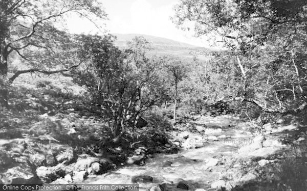 Photo of Abergwyngregyn, The Glen c.1955