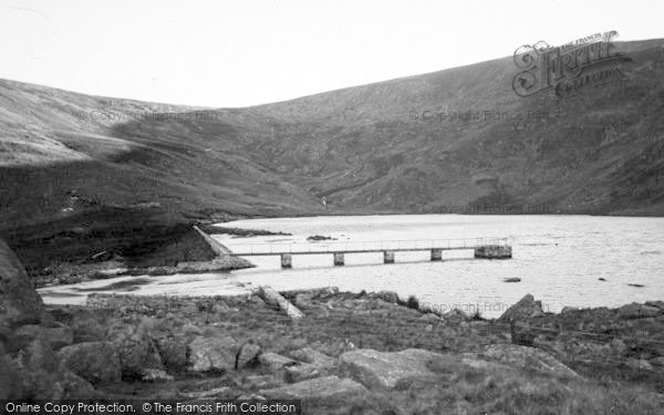 Photo of Abergwyngregyn, The Lake c.1950