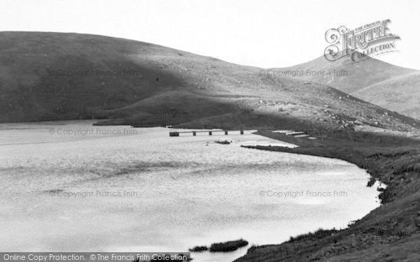 Photo of Abergwyngregyn, The Lake c.1955