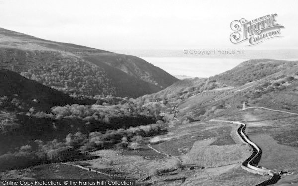 Photo of Abergwyngregyn, The Mountain Road c.1950