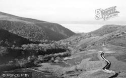 Abergwyngregyn, The Mountain Road c.1950