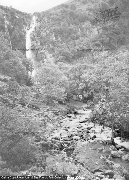 Photo of Abergwyngregyn, The River And Falls c.1955