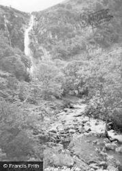 Abergwyngregyn, The River And Falls c.1955