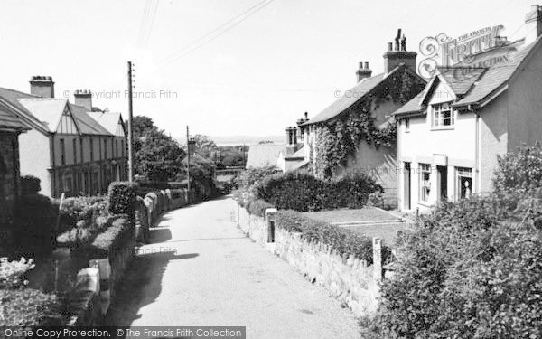 Photo of Abergwyngregyn, The Village And Post Office c.1955
