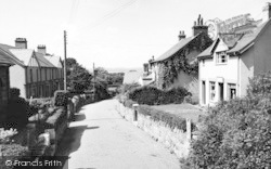 Abergwyngregyn, The Village And Post Office c.1955