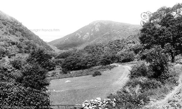 Photo of Abergwyngregyn, Valley 1896