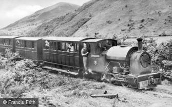 Abergynolwyn, Tallyllyn Railway c1951