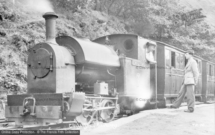 Photo of Abergynolwyn, Tallyllyn Railway c.1951