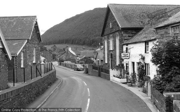 Photo of Abergynolwyn, The Cader Cafe 1961