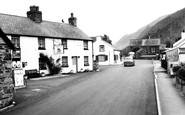 Abergynolwyn, the Railway Inn c1968