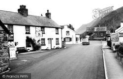The Railway Inn c.1968, Abergynolwyn