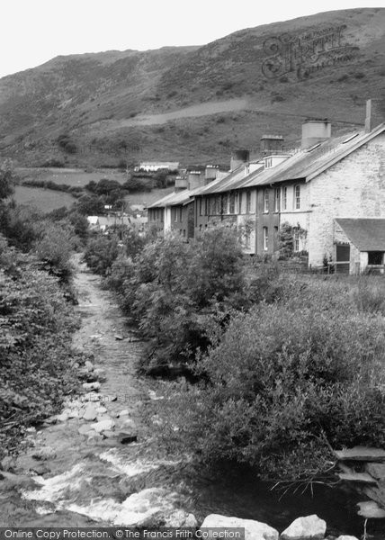 Photo of Abergynolwyn, The  River 1968