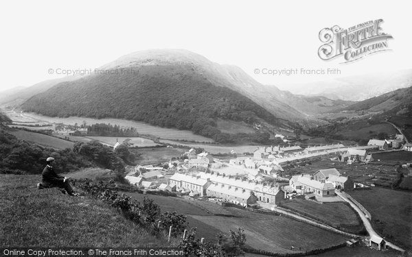Photo of Abergynolwyn, The Village 1895