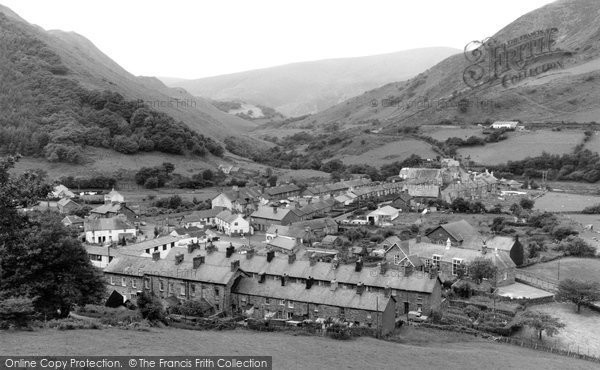 Photo of Abergynolwyn, The Village 1968