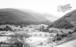Abergynolwyn, The Village c.1965
