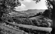 Aberhosan, Rhos-Y-Garreg Rocks c.1955
