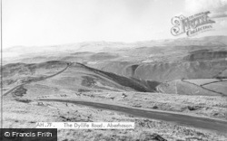 Aberhosan, The Dylife Road c.1955