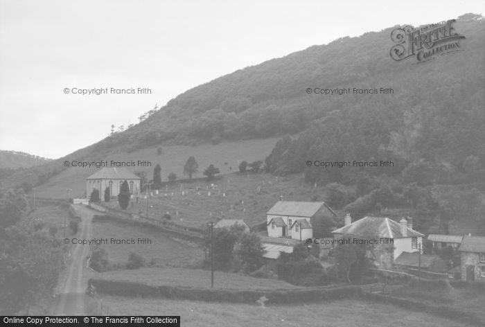 Photo of Aberhosan, The Village 1968