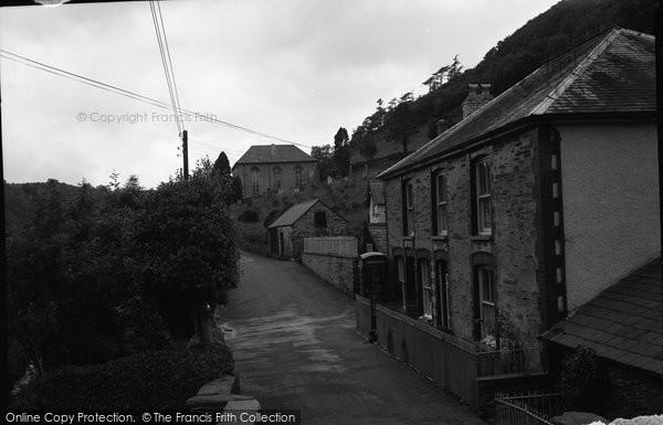 Photo of Aberhosan, The Village 1968
