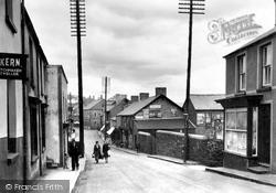 Aberkenfig, Bridgend Road 1938