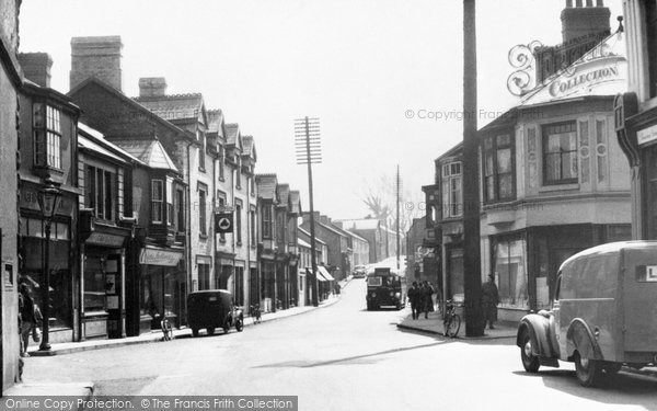 Photo of Aberkenfig, Bridgend Road c.1955